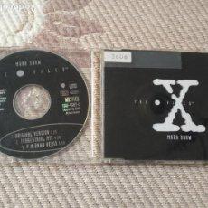 CDs de Música: MARK SNOW THE X FILES CD SINGLE DEL AÑO 1996 ALEMANIA CONTIENE 3 TEMAS EXPEDIENTE X. Lote 138891614