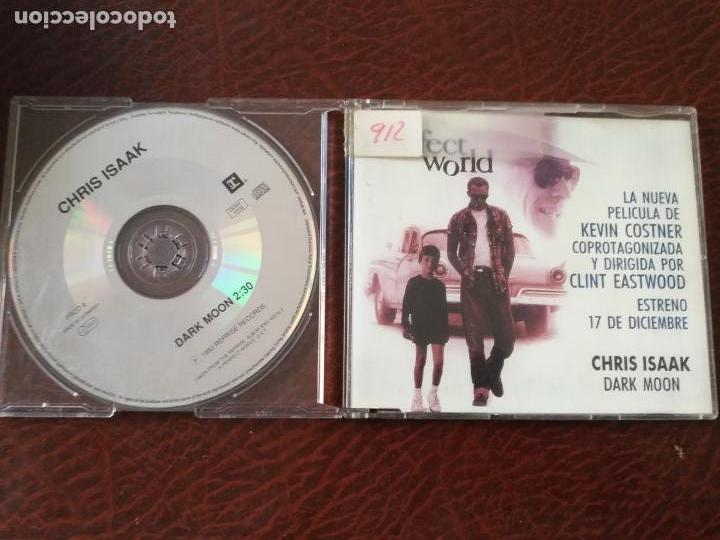 CHRIS ISAAK DARK MOON BANDA SONORA A PERFECT WORLD CD SINGLE PROMO 1993 ESPAÑA - ALEMANIA 1 TEMA (Música - CD's Melódica )