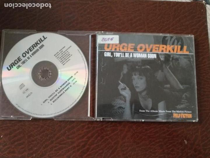 URGE OVERKILL   GIRL YOU'LL BE A WOMAN SOON   CD SINGLE   GERMANY 1994 MCA RECORDS   PULP FICTION (Música - CD's Melódica )