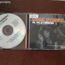 CDs de Música: URGE OVERKILL | GIRL YOU'LL BE A WOMAN SOON | CD SINGLE | GERMANY 1994 MCA RECORDS | PULP FICTION. Lote 138897094