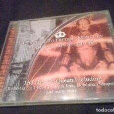 CDs de Música: STUDIO 99 – A TRIBUTE TO FREDDIE MERCURY CD. Lote 138898910
