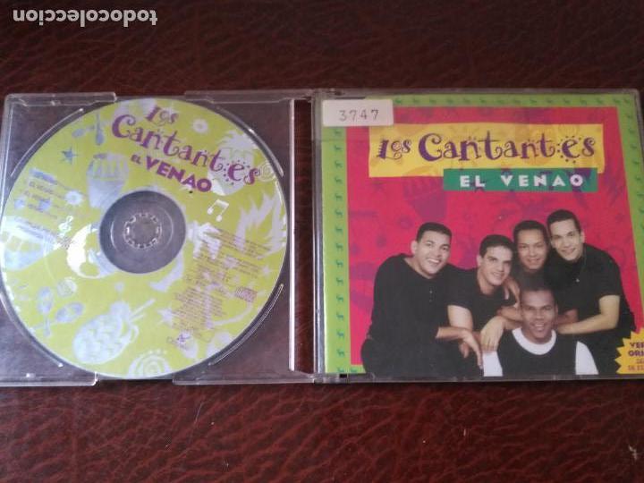 LOS CANTANTES EL VENAO REMIXES CD SINGLE PROMOCIONAL DE PLASTICO AÑO 1996 4 VERSIONES (Música - CD's Melódica )