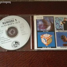 CDs de Música: CD SINGLE NUMEROS 1 EN EUROPA VOL.3 LEELA DOUBLE YOU DEE TODD TERRY PROJECT . 4 TRACKS. Lote 138900866