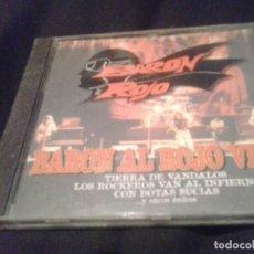 CDs de Música: BARÓN ROJO ?– BARÓN AL ROJO VIVO CD. Lote 138906882