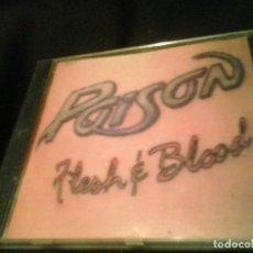 CDs de Música: POISON ?– FLESH & BLOOD CD. Lote 138907458