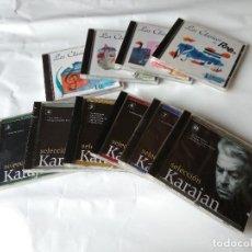 CDs de Música: 6 CD´S DE KARAJAN, 4 DE LOS MEJORES DE RNE SIN USAR.. Lote 138912058