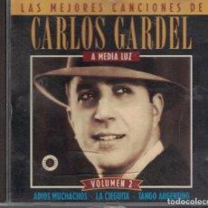 CDs de Música: LAS MEJORES CANCIONES DE CARLOS GARDEL. Lote 138921054
