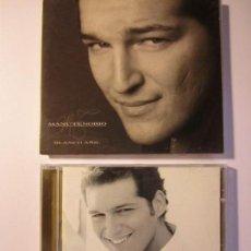 CDs de Música: LOTE 2 CD MANU TENORIO BLANCO AÑIL. Lote 138936530