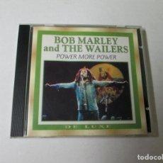CDs de Música: BOB MARLEY & THE WAILERS - POWER MORE POWER -CD 20 TEMAS- SONORA DE LUXE 1996 PROMO SOUND AG RARE. Lote 138945698