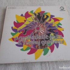 CDs de Música: PSYCHEDELIC JAZZ & FUNKY GROOVES. Lote 138982326