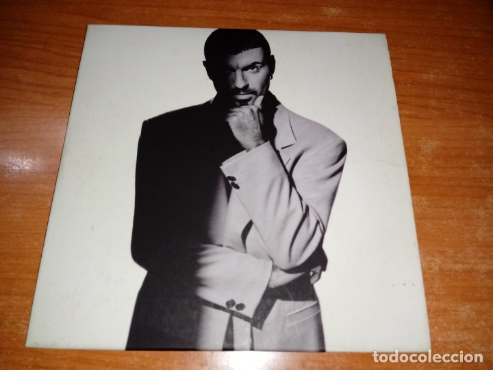 GEORGE MICHAEL FAST LOVE CD SINGLE PROMO DEL AÑO 1996 UK PORTADA DE CARTON WHAM 2 TEMAS (Música - CD's Pop)