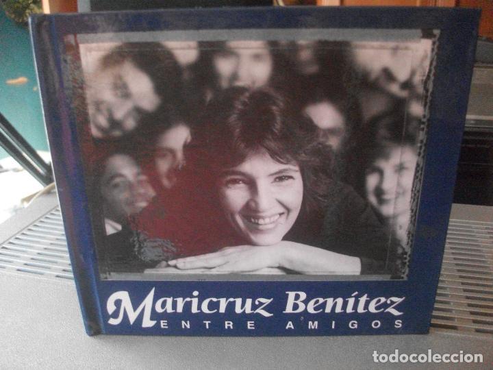 MARICRUZ BENITEZ ENTRE AMIGOS CD LIBRO PEPETO (Música - CD's Latina)