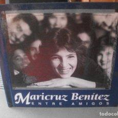 CDs de Música: MARICRUZ BENITEZ ENTRE AMIGOS CD LIBRO . Lote 139029854