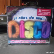CDs de Música: 30 AÑOS DE MUSICA DISCO - DOBLE CD + DVD DOCUMENTAL NUEVO¡¡¡ PEPETO. Lote 139032354