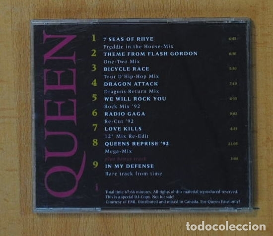 QUEEN - A TRIBUTE TO FREDDIE MERCURY / MIX-UO - CD