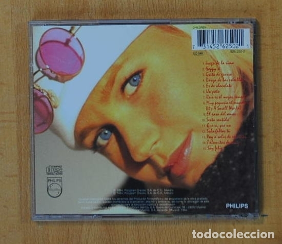 CDs de Música: XUXA - EL PEQUEÑO MUNDO - CD - Foto 2 - 162351852
