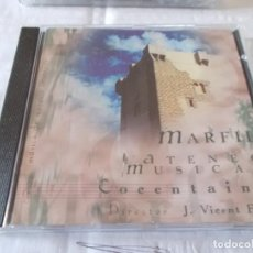 CDs de Música: MARFIL. ATENEO MUSICAL COCENTAINA. DIRECTOR. J. VICENT EGEA. Lote 139076762