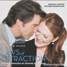 CDs de Música: LAWS OF ATTRACTION / EDWARD SHEARMUR CD BSO. Lote 38067514