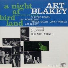 CDs de Música: ART BLAKEY QUINTET - A NIGHT AT BIRDLAND • VOLUME 1 - CD. Lote 139174082