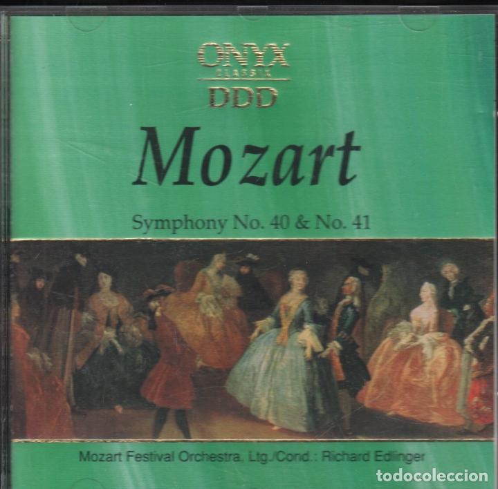 MOZART - SYMPHONY NO  40 & NO  41 / CD ONYX CLASSIX / CD ALBUM DE 1991  RF-1267 , BUEN ESTADO