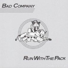 CDs de Música: BAD COMPANY - RUN WITH THE PACK - CD REMASTERIZADO. Lote 139177802