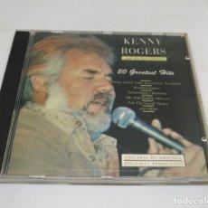 CDs de Música: KENNY ROGERS - 20 GREATEST HITS.. Lote 139213286