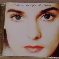 CDs de Música: SINEAD O'CONNOR - SO FAR THE BEST OF (CD) 1997 - 15 TEMAS. Lote 144895377
