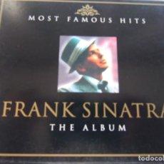 CDs de Música: FRANK SINATRA- THE ALBUM- 2 CD. Lote 139241978