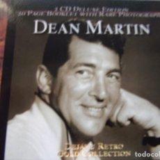 CDs de Música: DEAN MARTIN - 2 CD DELUXE EDITION, 20 PAGE BOOKLET WITH RARE PHOTOGRAPHS - DEJAVU RETRO GOLD. Lote 139242210