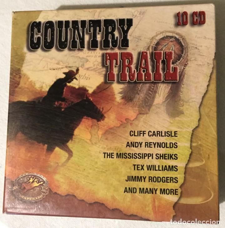 COUNTRY TRAIL 10 CD (Música - CD's Country y Folk)