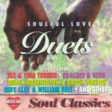 CDs de Música: SOULFUL LOVE DUETS, VOL 1, 12 TRACKS VARIOUS ARTISTS - 1995 CD. Lote 139243142