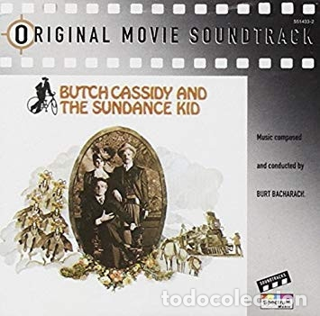 BUTCH CASSIDY & THE SUNDANCE KID Soundtrack CD SPECTRUM