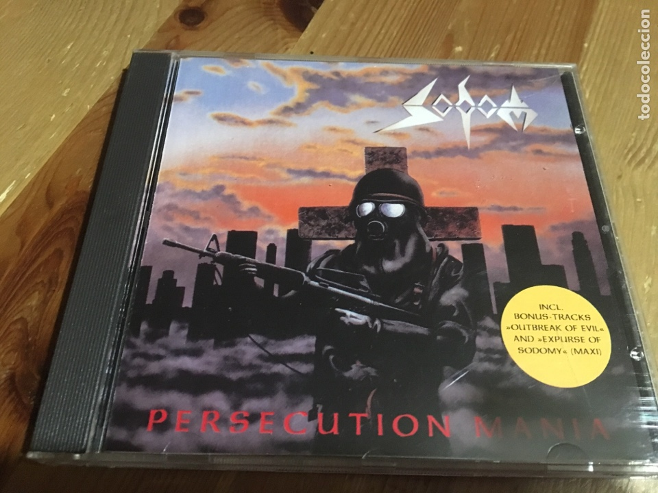 Sodom - persecution mania - cd - Vendido en Venta Directa - 139254137