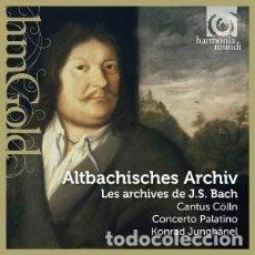CDs de Música: J.S BACH - ALTBACHISCHES ARCHIV - LOS ARCHIVOS DE J.S BACH (2CD) CANTUS CÖLLN, CONCERTO PALATINO. Lote 139289546