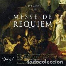 CDs de Música: ANDRÉ CAMPRA - MISA DE REQUIEM (CD) ORCHESTRE DES MUSIQUE ANCIENNES ET À VENIR. Lote 139289906
