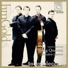 CDs de Música: DMITRI SHOSTAKOVICH - CUARTETOS DE CUERDA (2CD) JERUSALEM QUARTET. Lote 139291106