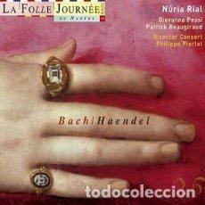CD de Música: BACH, HANDEL - CONCIERTOS Y OTRAS OBRAS (CD) NURIA RIAL, RICERCAR CONSORT. Lote 139291870