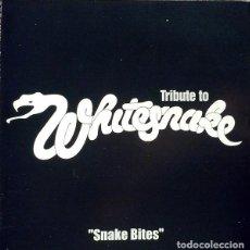 CDs de Música: SNAKEBITES - A TRIBUTE TO WHITESNAKE (BRAZIL, 2000) [DIFÍCIL - RARO]. Lote 139352598