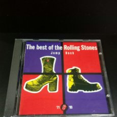 CDs de Música: ROLLING STONES - THE BEST OF THE ROLLING STONES- JUMP BACK - CD. Lote 139402393