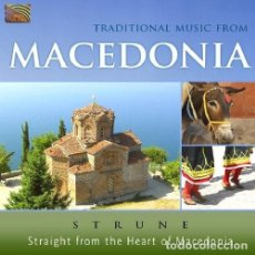 CDs de Música: STRUNE - TRADITIONAL MUSIC FROM MACEDONIA - CD. Lote 139407818
