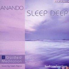 CDs de Música: ANANDO - SLEEP DEEP - CD PRECINTADO. Lote 139411302