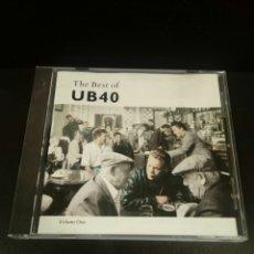 CDs de Música: UB40 - THE BEST OF UB40 VOLUME ONE - CD. Lote 139429454