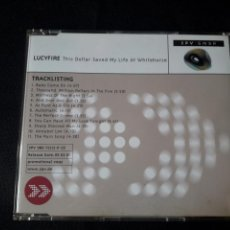 CDs de Música: LUCYFIRE - CD PROMOCIONAL THIS DOLLAR SAVED MY LIFE AT WHITEHORSE (GOTH ROCK). Lote 139497302