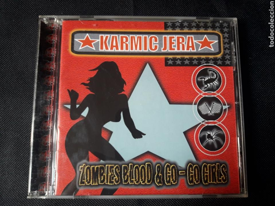 KARMIC JERA - CD ZOMBIES BLOOD & GO-GO GIRLS (ALTERNATIVE, BIG BEAT, INDUSTRIAL, HEAVY, ELECTRONIC) (Música - CD's Heavy Metal)