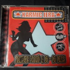 CDs de Música: KARMIC JERA - CD ZOMBIES BLOOD & GO-GO GIRLS (ALTERNATIVE, BIG BEAT, INDUSTRIAL, HEAVY, ELECTRONIC). Lote 139500124