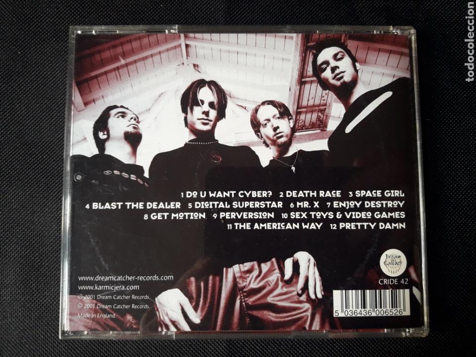 CDs de Música: Karmic Jera - CD Zombies Blood & Go-Go Girls (alternative, big beat, industrial, heavy, electronic) - Foto 2 - 139500124