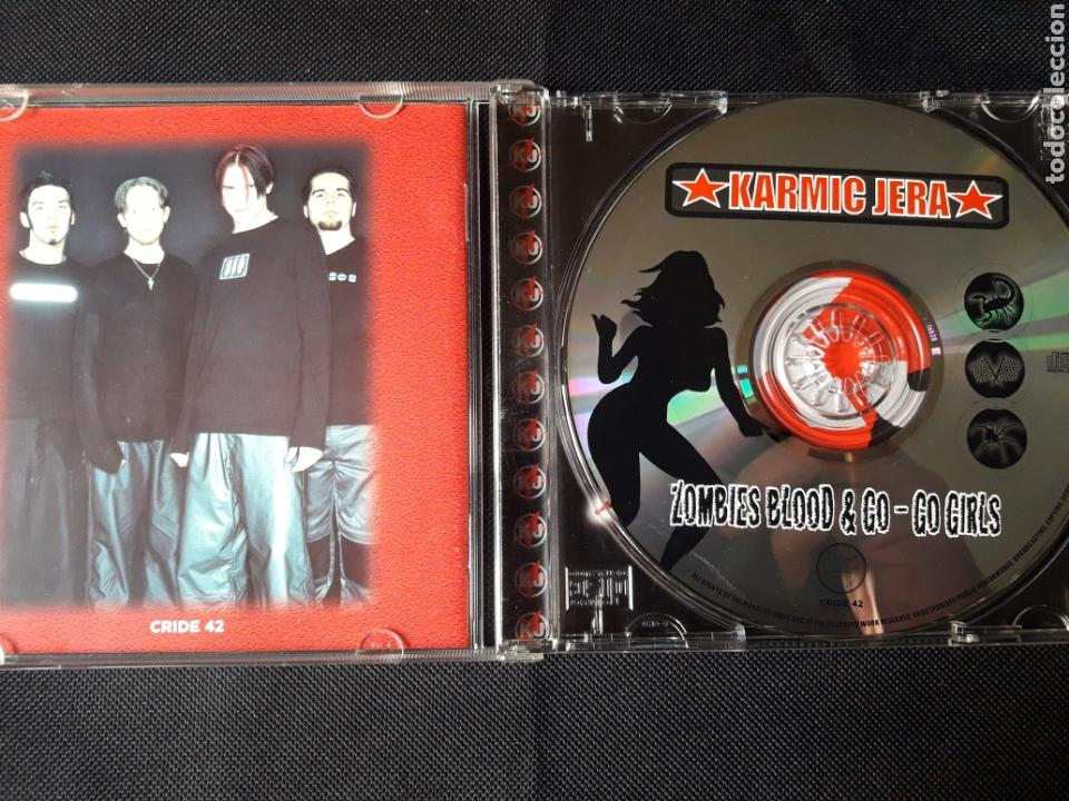 CDs de Música: Karmic Jera - CD Zombies Blood & Go-Go Girls (alternative, big beat, industrial, heavy, electronic) - Foto 3 - 139500124