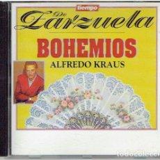 CDs de Música: CD TIEMPO DE ZARZUELA, BOHEMIOS . Lote 139500722