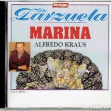 CDs de Música: CD TIEMPO DE ZARZUELA MARINA VOL.2. Lote 139501674