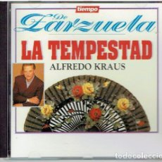 CDs de Música: CD TIEMPO DE ZARZUELA ALFREDO KRAUS . Lote 139503834